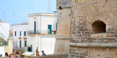 Otranto Castle featuring heritage architecture and a castle