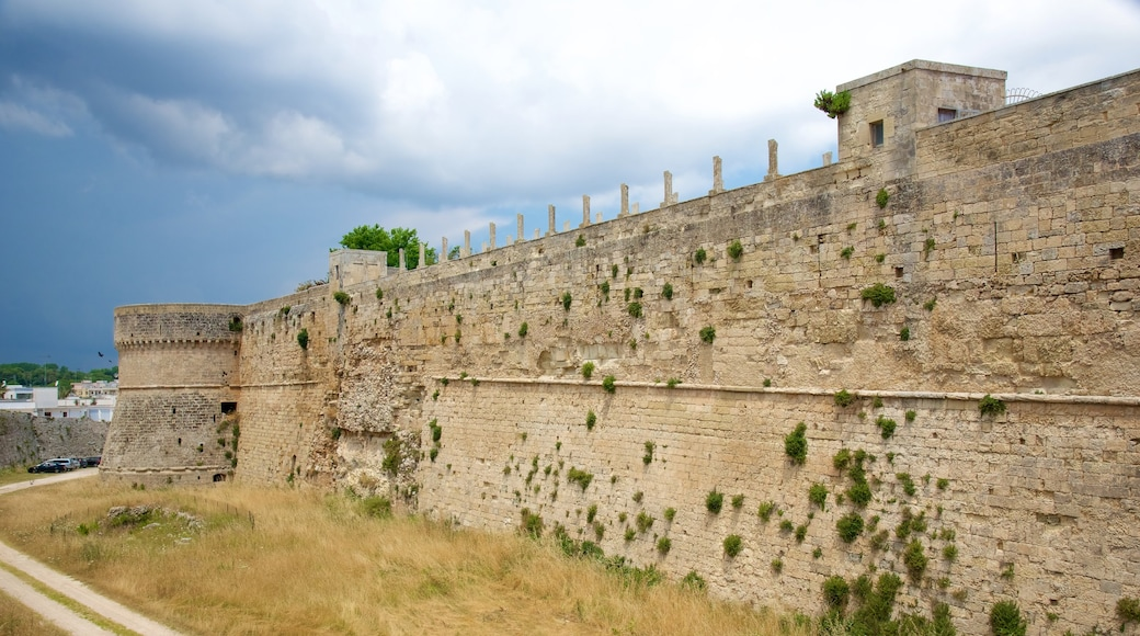 Otranto Castle showing heritage architecture and château or palace