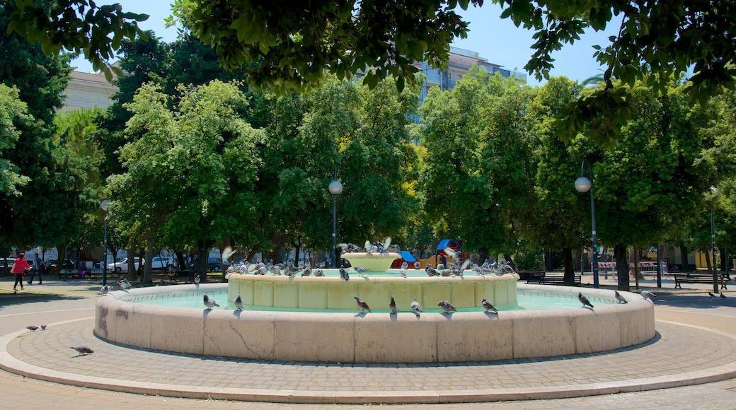 Piazza Giuseppe Garibaldi caratteristiche di fontana