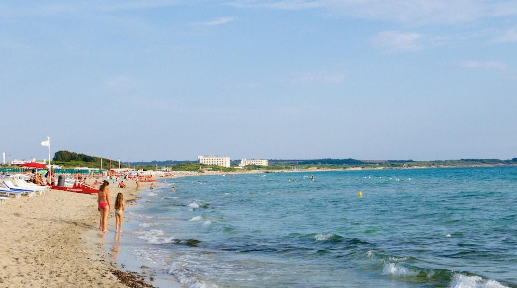 Baia Verde Beach das einen allgemeine Küstenansicht und Strand