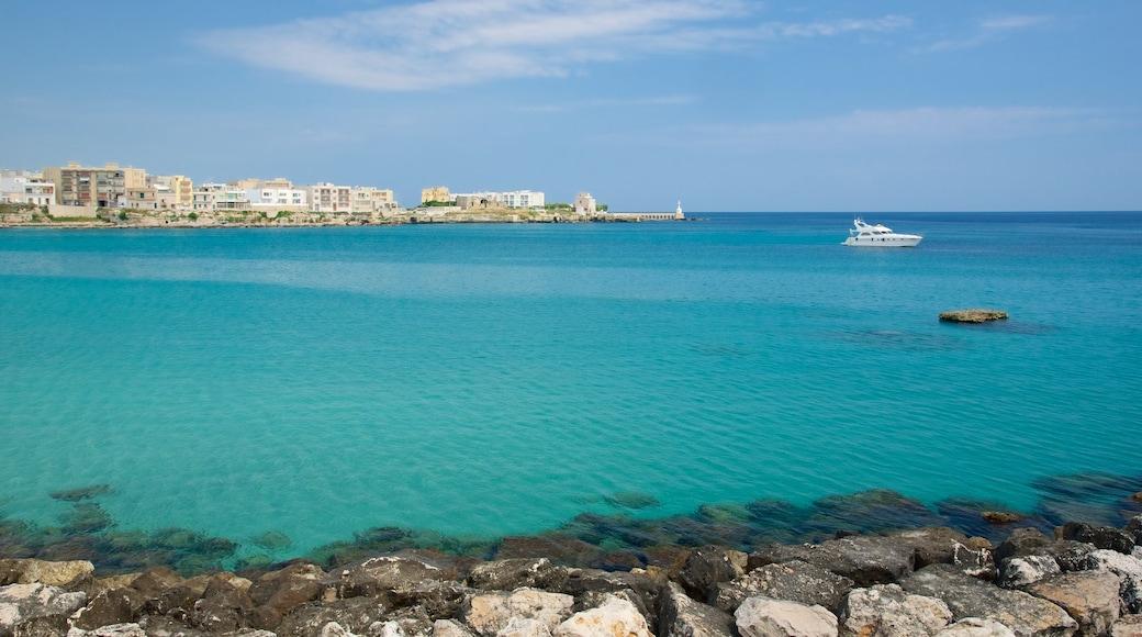 Otranto Waterfront which includes rocky coastline