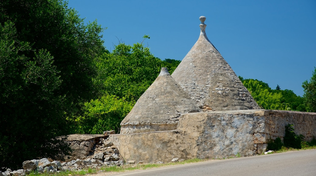 Puglia which includes building ruins and heritage architecture