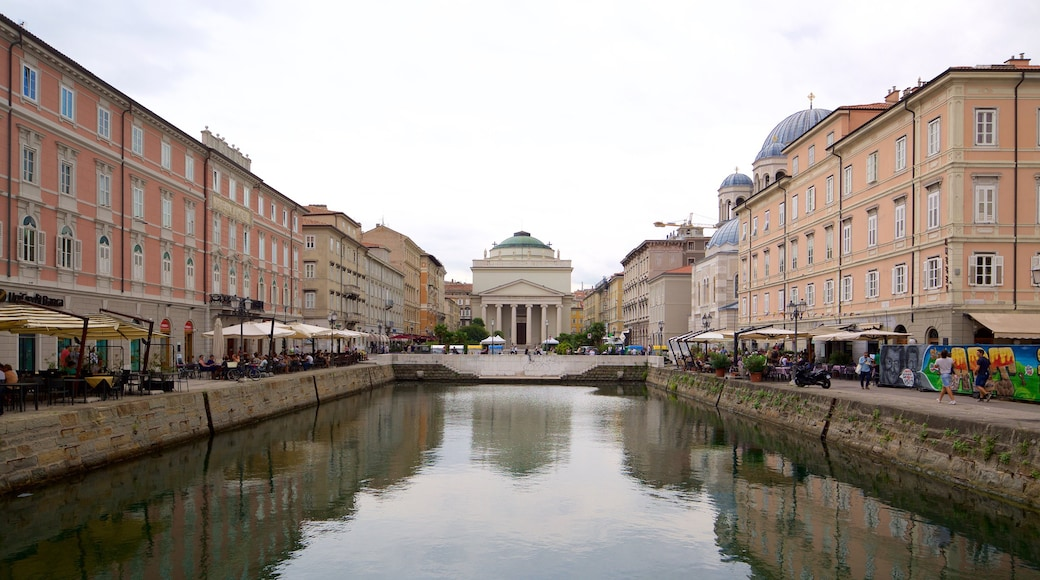 Trieste featuring a river or creek