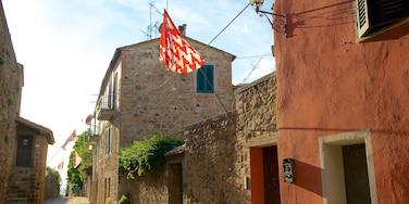 San Quirico d\'Orcia das einen historische Architektur