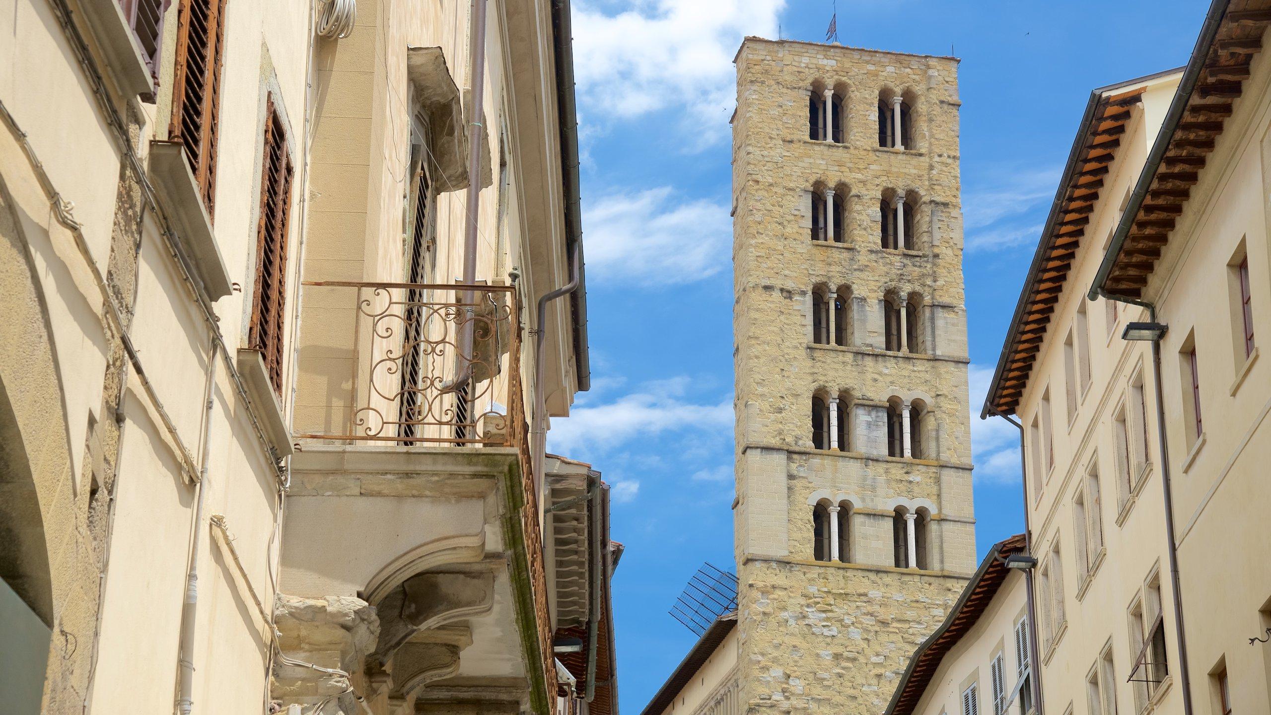 Quartiere di Porta Crucifera, Arezzo, Toscane, Italië