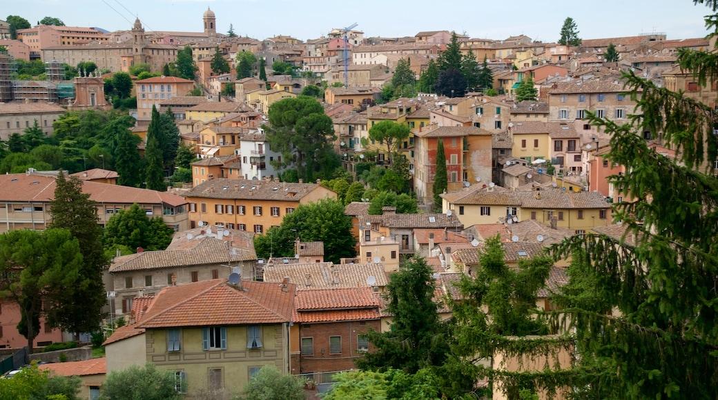 Perugia mostrando città