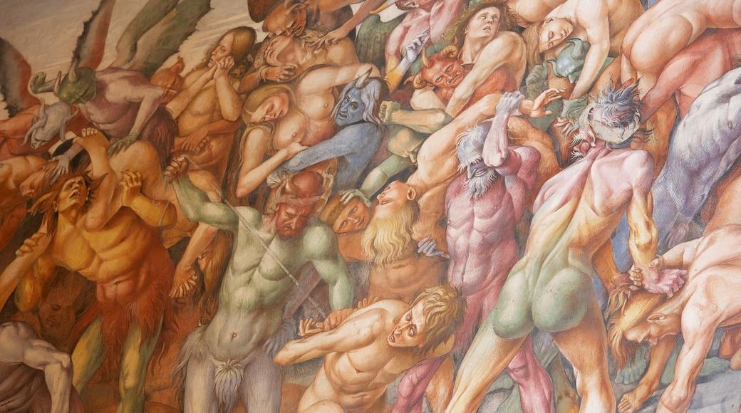 Duomo di Orvieto which includes art