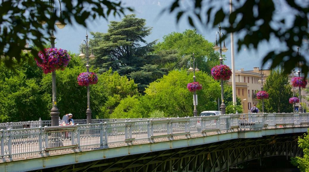 Bolzano mostrando ponte