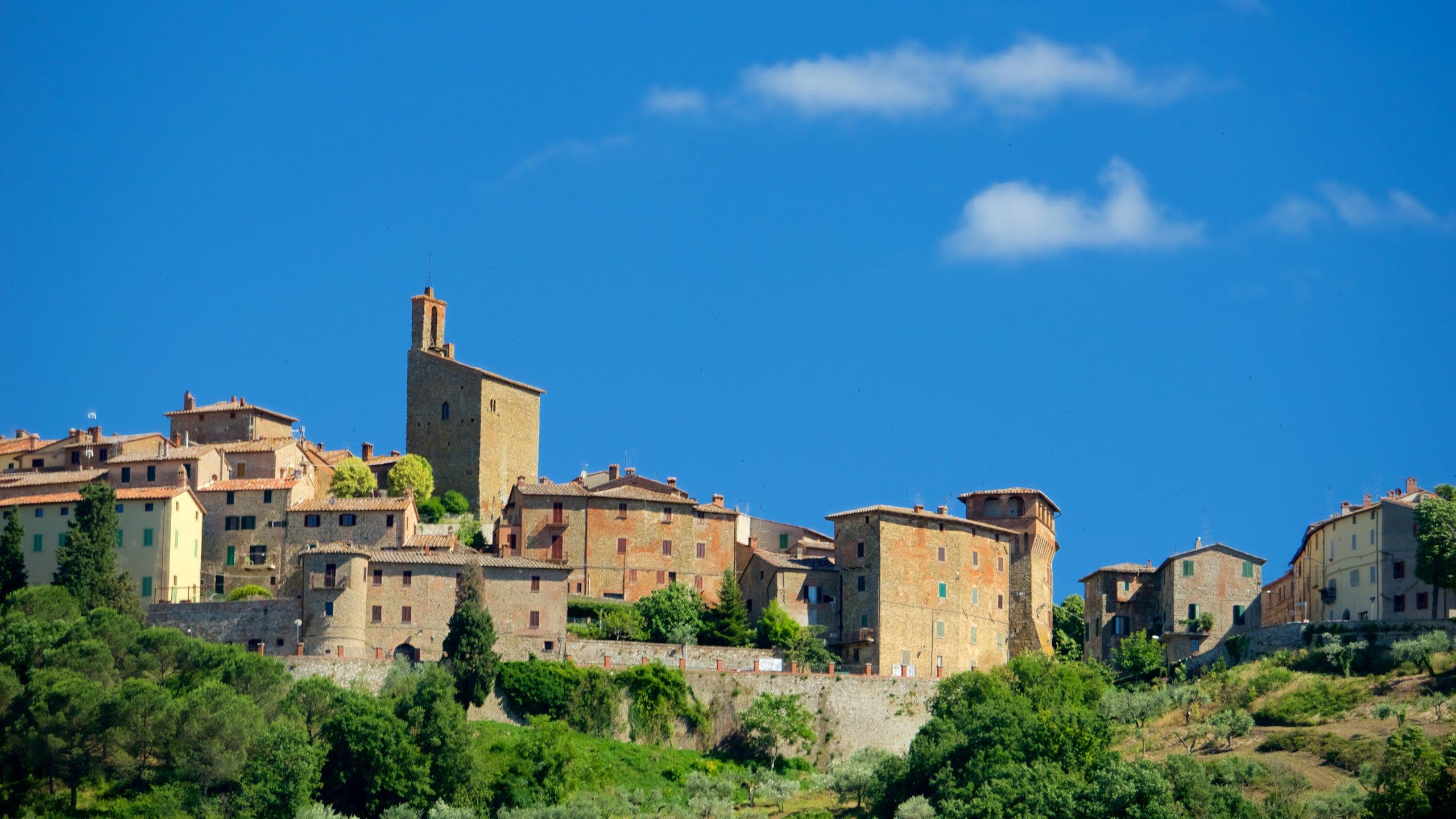 Panicale, Umbrien, Italien