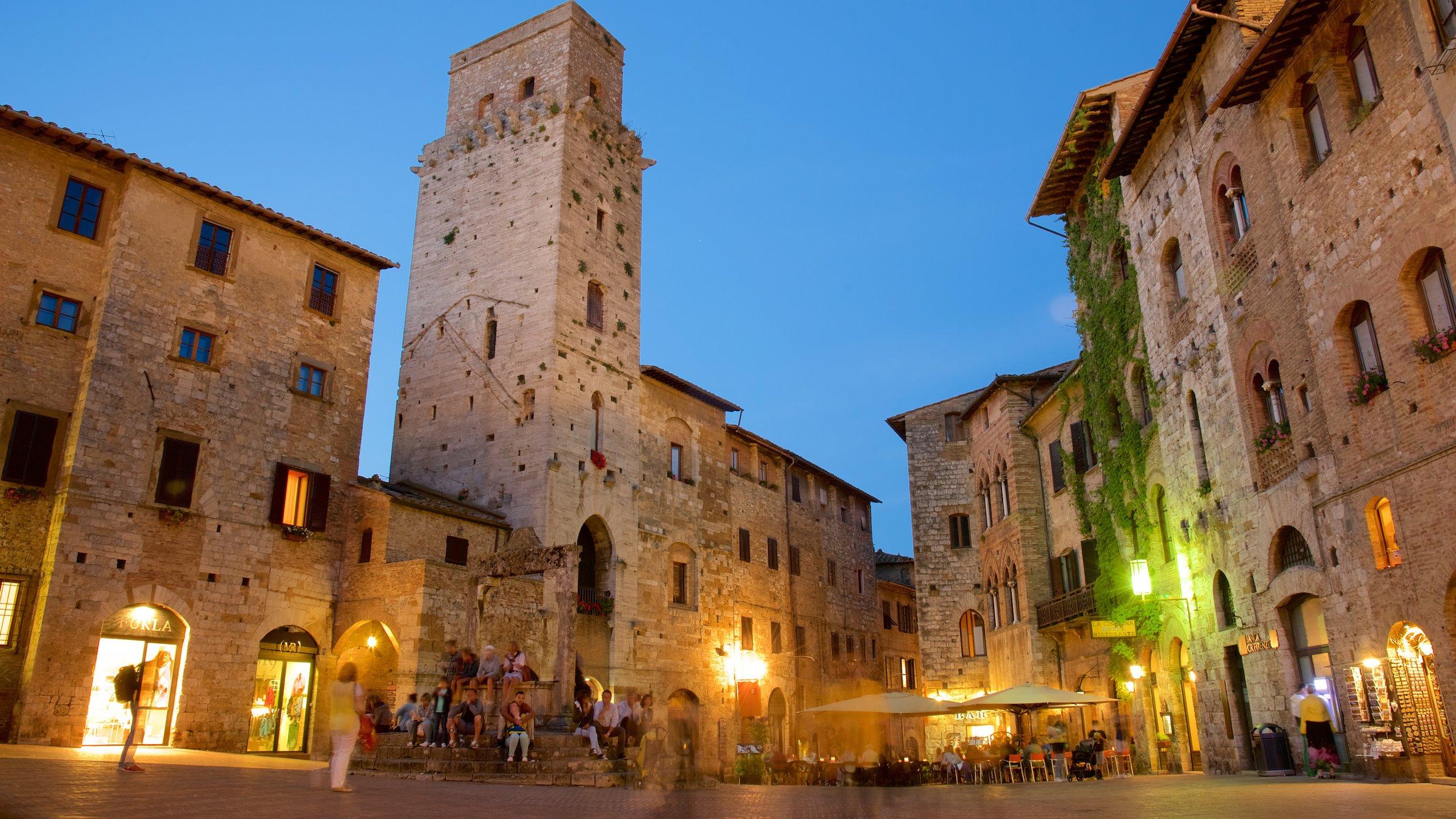 San Gimignano City Centre, San Gimignano, Tuscany, Italy