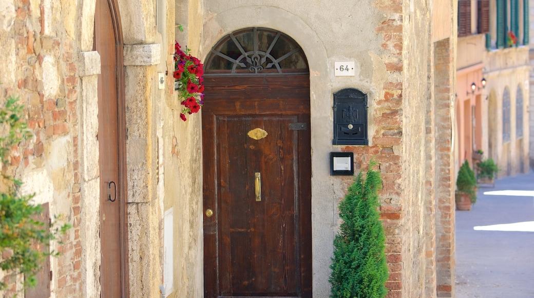 Montepulciano montrant patrimoine architectural