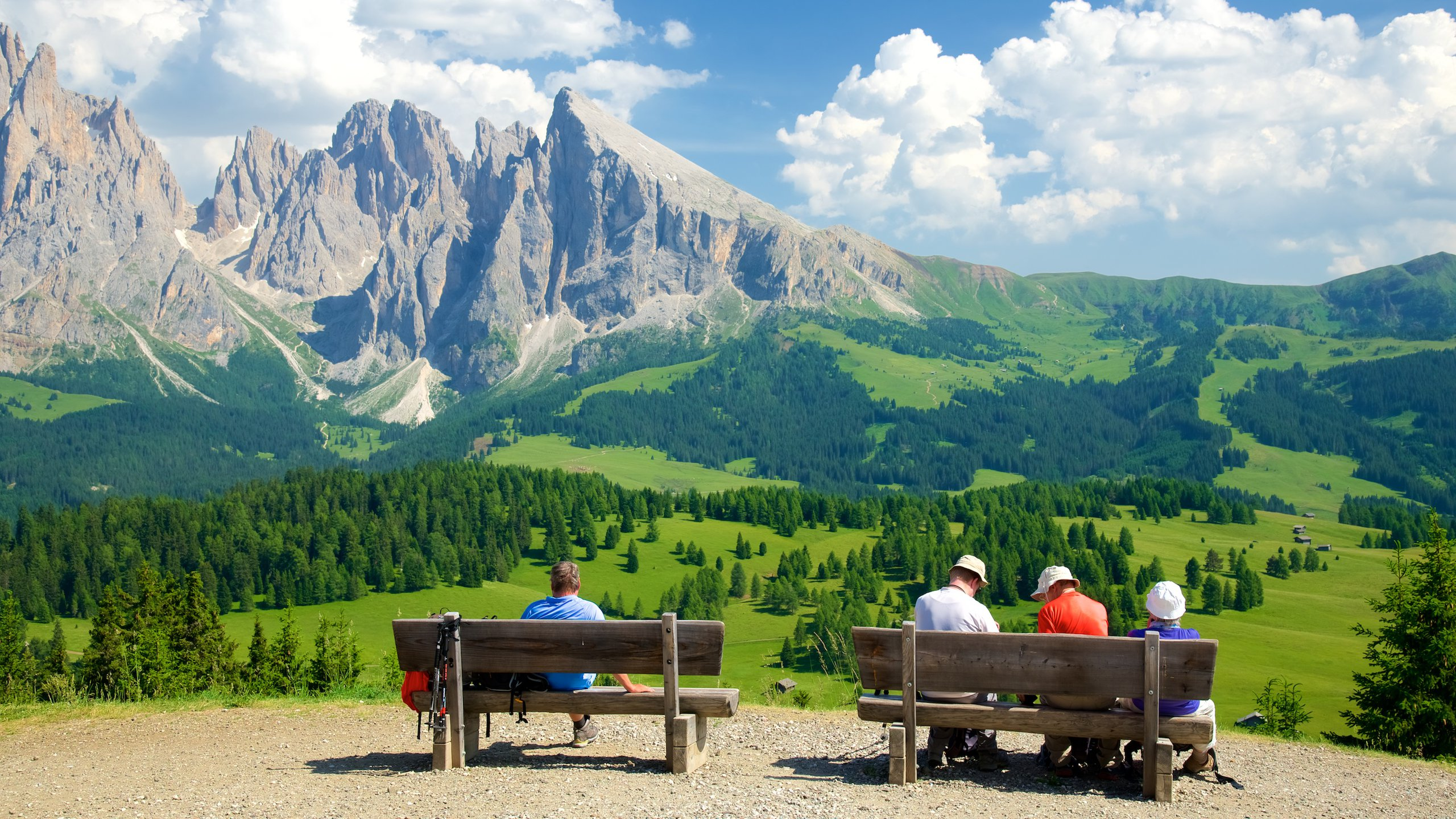Alpe di Siusi, Trentino-Alto Adige, Italy