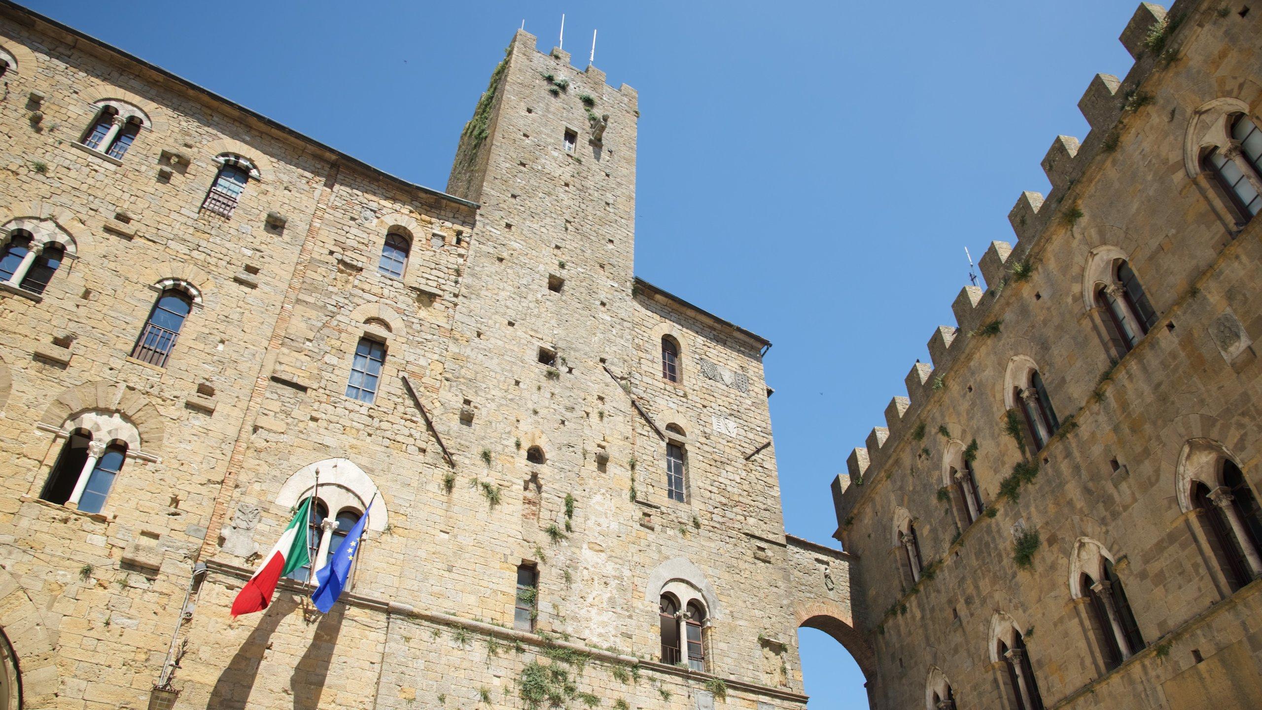 Pomarance, Toscana, Italia