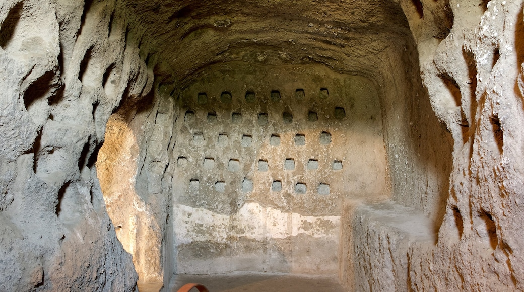 Grotte della Rupe caratteristiche di grotte e oggetti d\'epoca