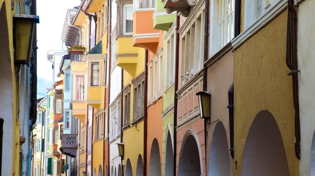 Bozen mit einem historische Architektur