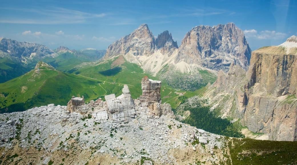 Trentino mit einem Berge