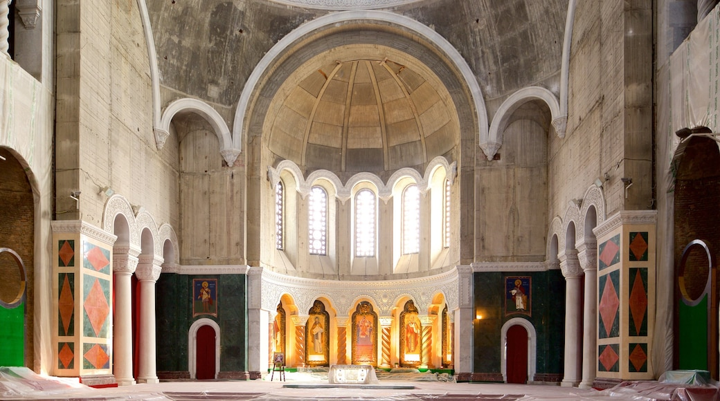 Cathedral of Saint Sava which includes interior views and heritage architecture