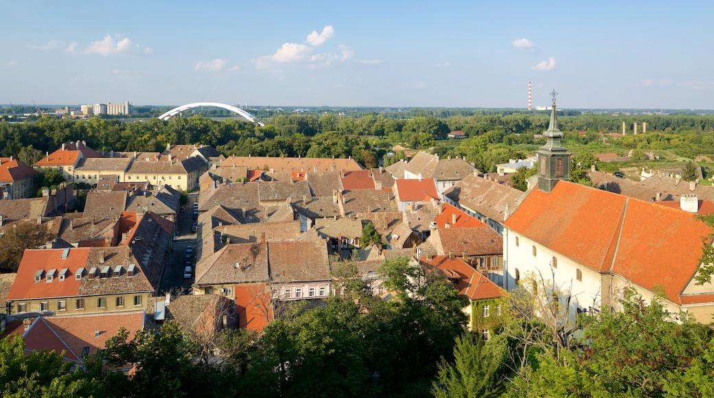 Novi Sad showing a city and a house