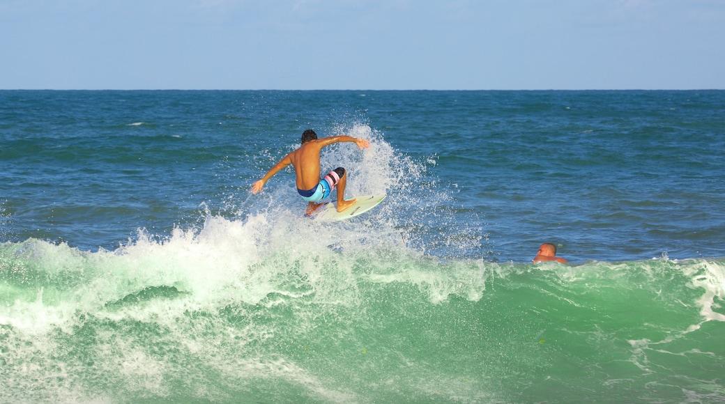 Playa de Maracaipe mostrando surf y una playa