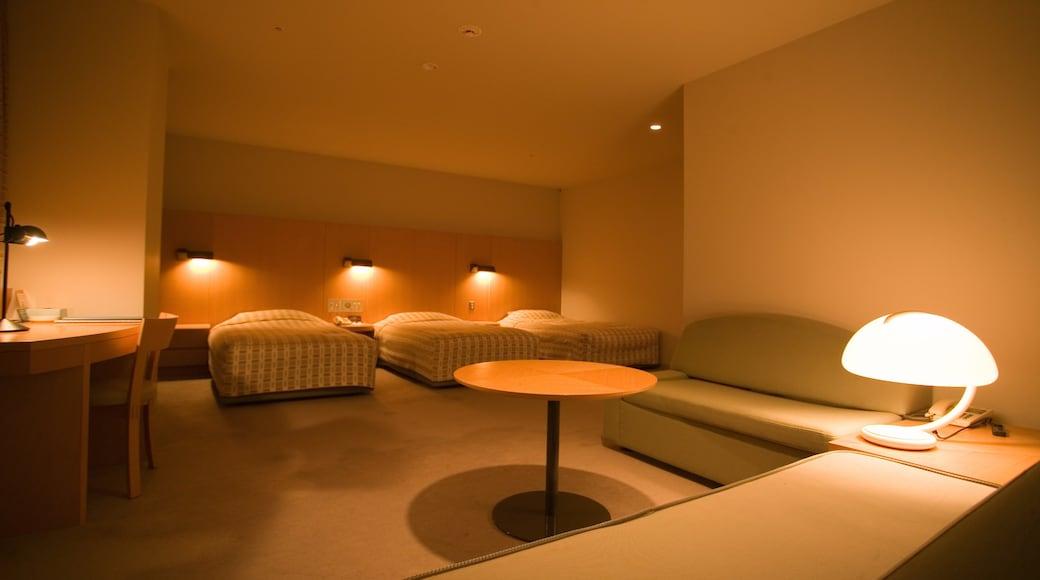 Appi Kogen Ski Resort mostrando vistas internas e um hotel de luxo ou resort