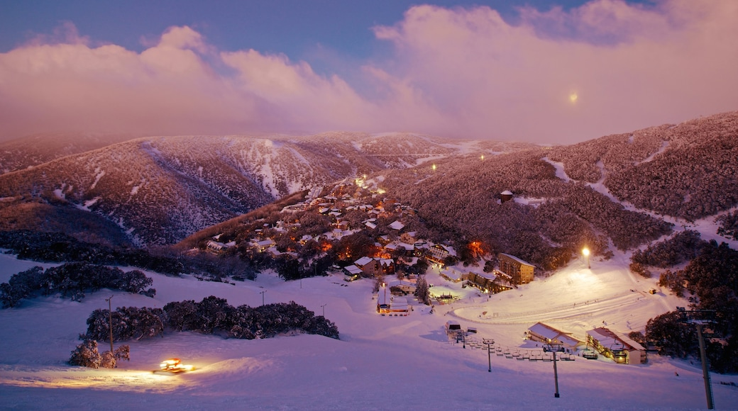 Falls Creek which includes snow