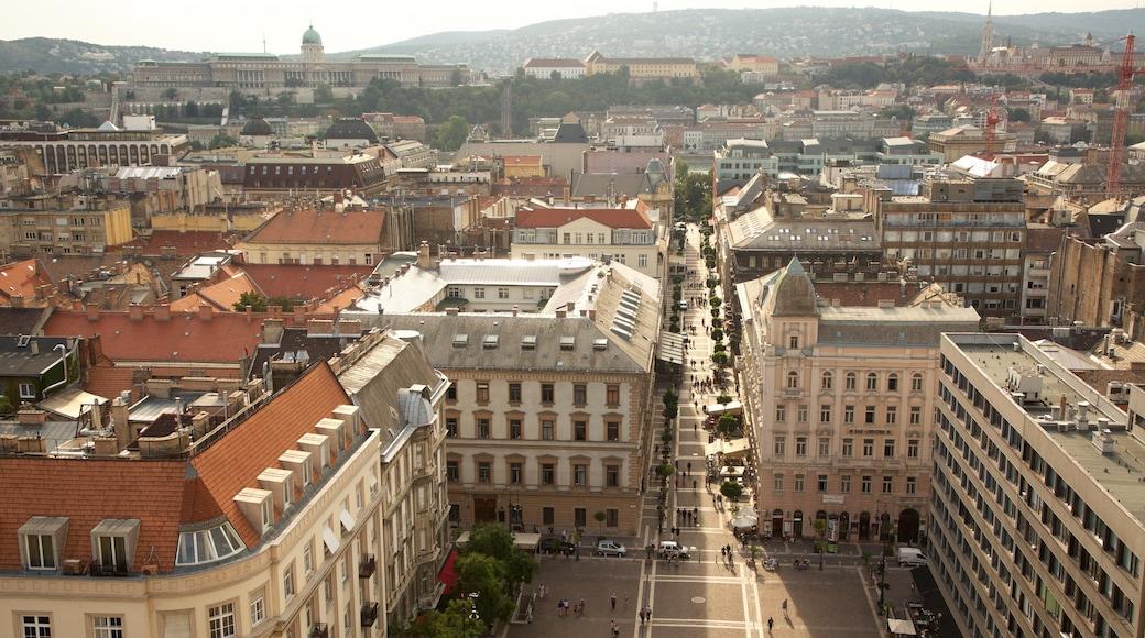 Széchenyi István Plein inclusief straten en een stad