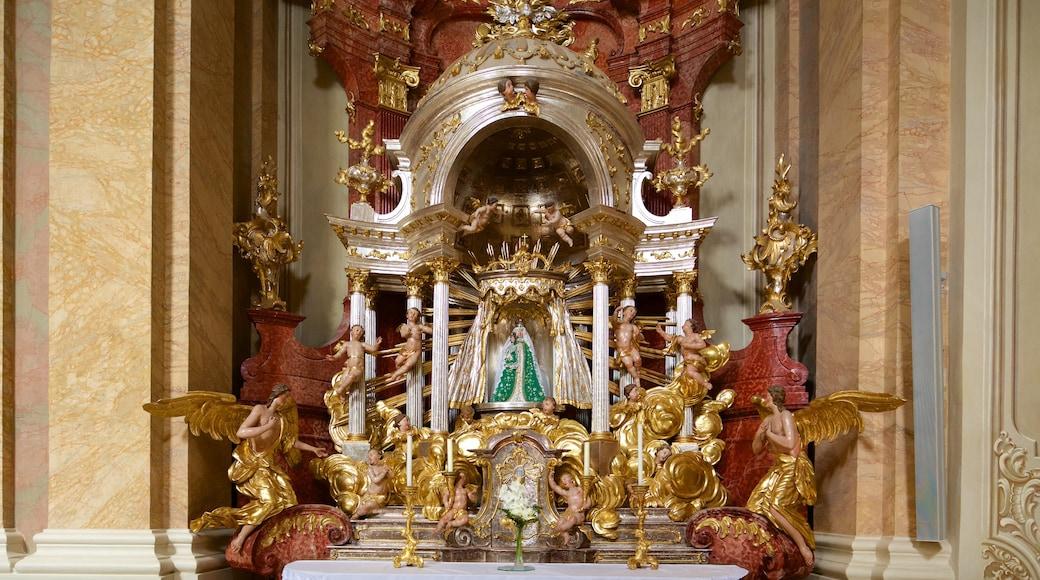 Tihany Abbey welches beinhaltet religiöse Aspekte und Kirche oder Kathedrale