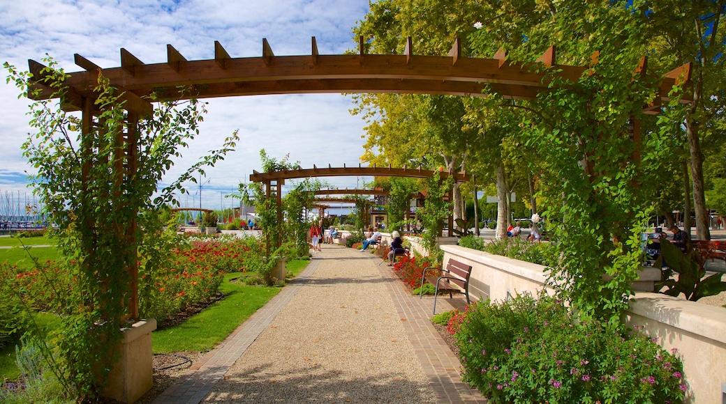 Balatonfüred mit einem Garten