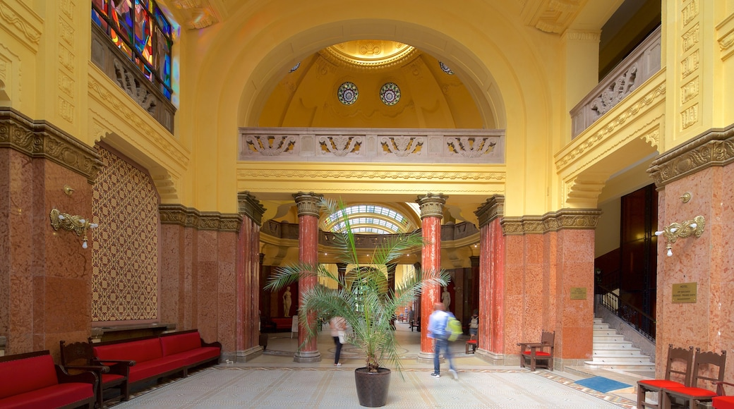 Gellert Thermal Baths and Swimming Pool which includes a day spa and interior views