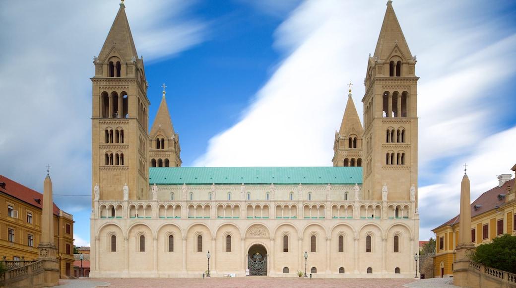 Pecs Cathedral das einen Kirche oder Kathedrale und historische Architektur