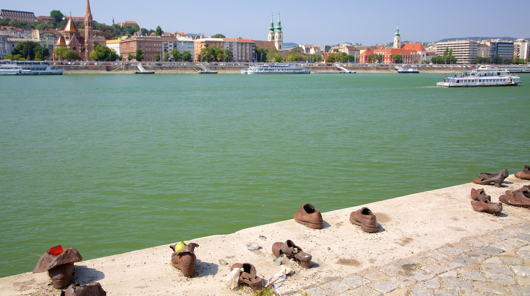 Budapest featuring heritage elements, a river or creek and views
