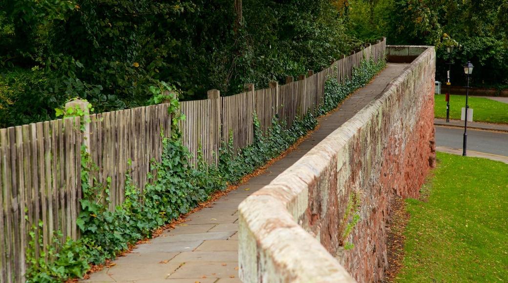 Chester City Walls welches beinhaltet Geschichtliches