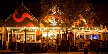 Dunsborough showing night scenes and outdoor eating