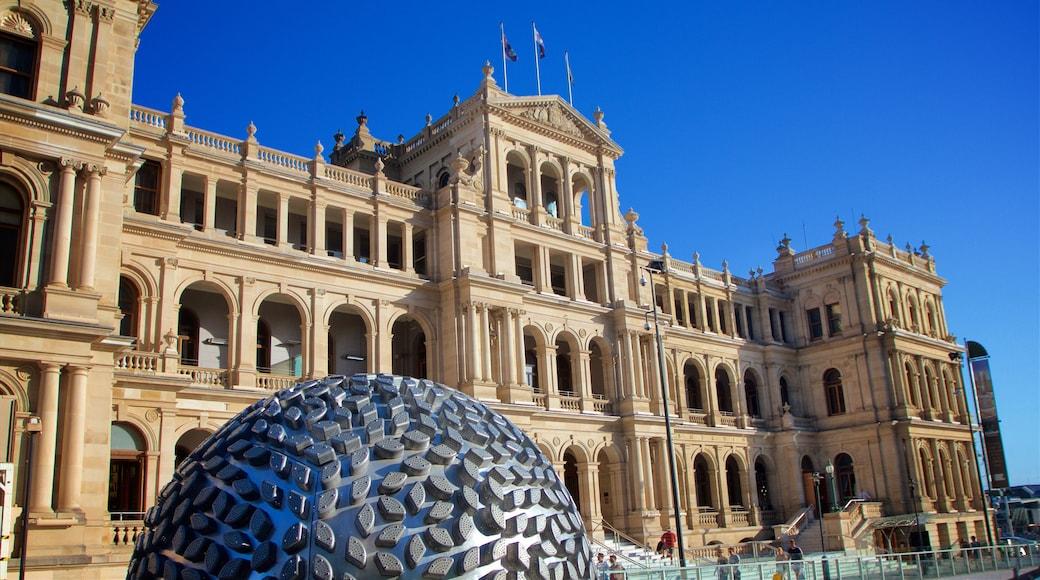 Treasury Casino showing a city