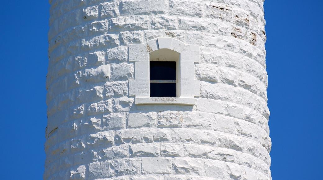 Cape Leeuwin 燈塔 其中包括 燈塔