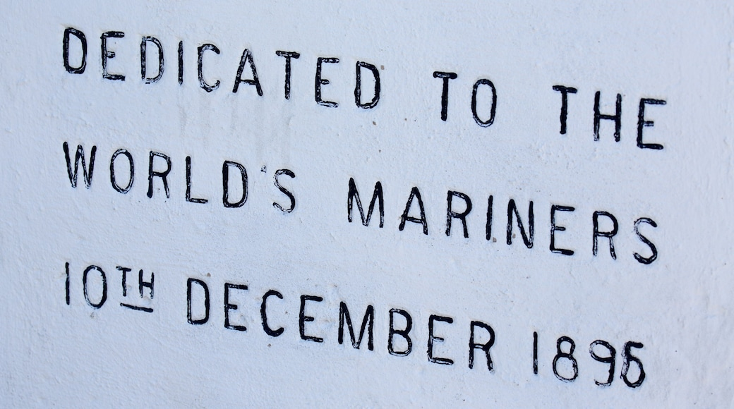 Cape Leeuwin 燈塔 其中包括 指示牌