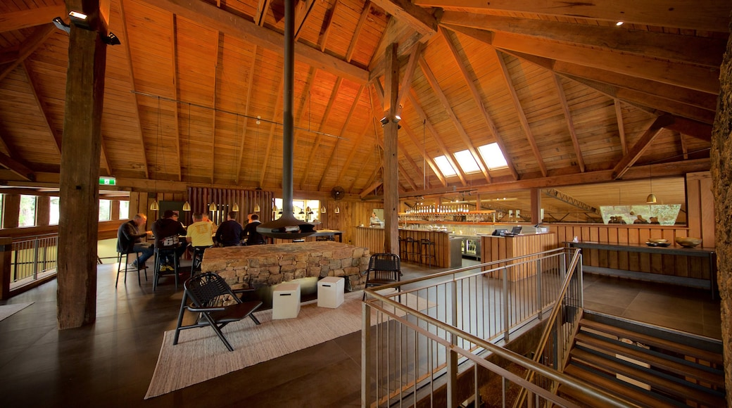 Vasse Felix Winery which includes interior views