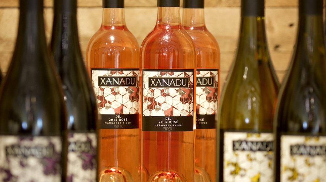Xanadu Winery featuring interior views and drinks or beverages