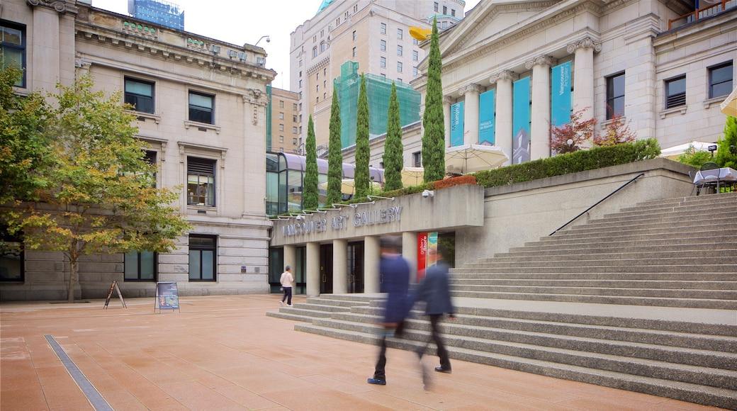 Galería de Arte de Vancouver que incluye arquitectura patrimonial
