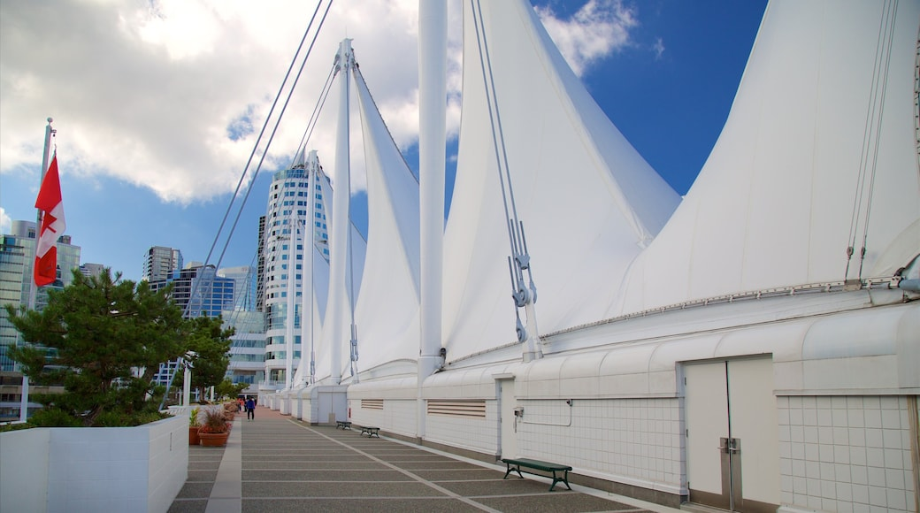 Canada Place featuring modern architecture and a city