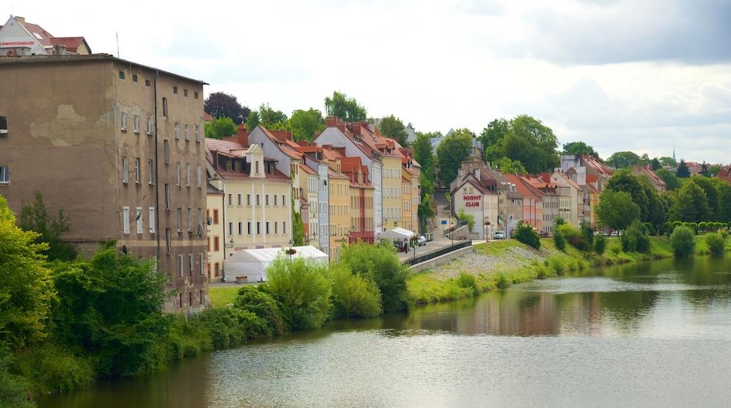 Görlitz som viser en flod eller et vandløb