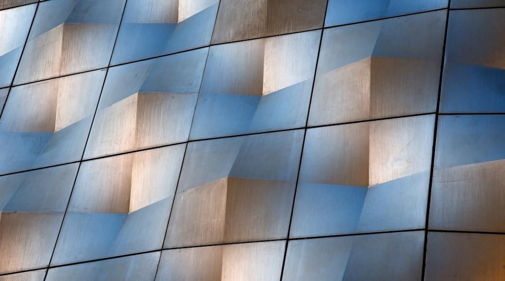 Leipzig ofreciendo arquitectura moderna