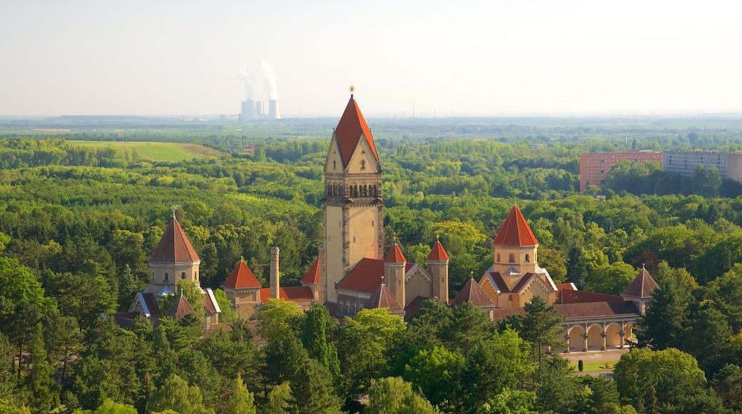 Völkerschlachtdenkmal og byder på et slot