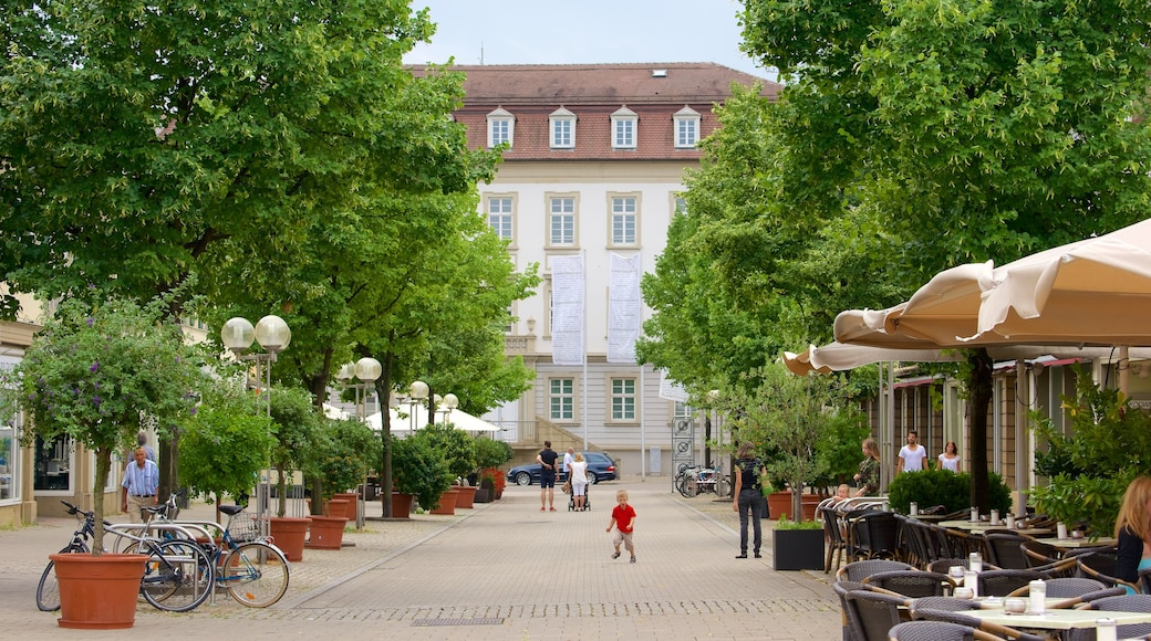 루드빅스부르크 을 보여주는 거리 풍경