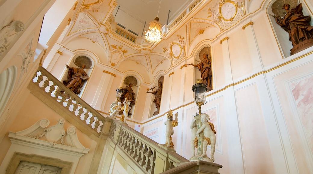 Residenzschloss Ludwigsburg das einen Innenansichten und Haus