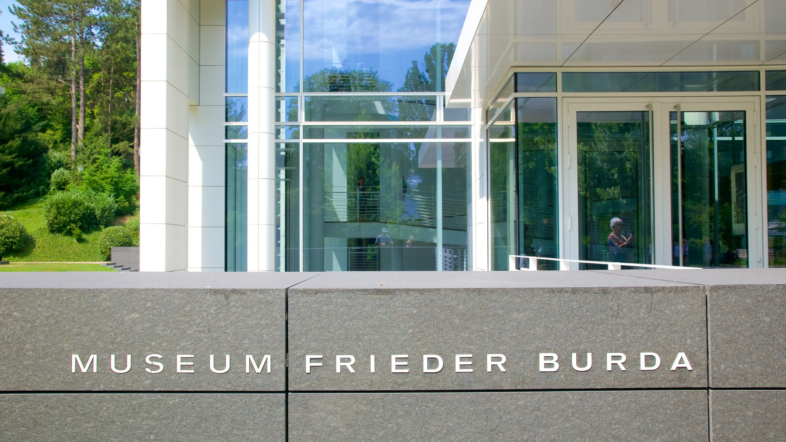 Museum Frieder Burda, Baden-Baden, Baden-Wuerttemberg, Duitsland