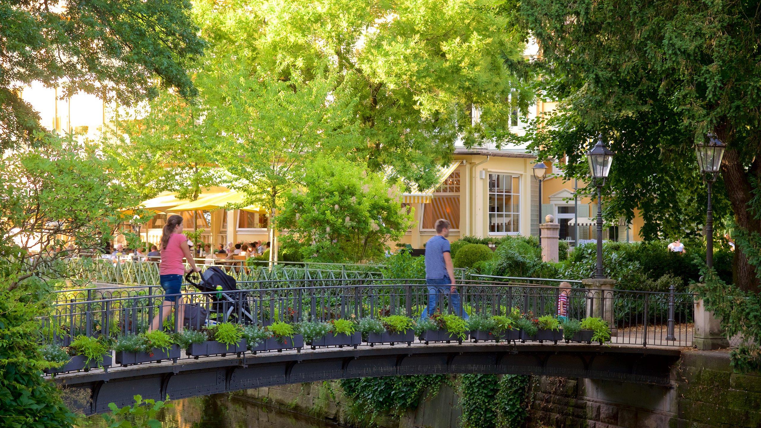 Baden-Baden which includes a bridge as well as a family