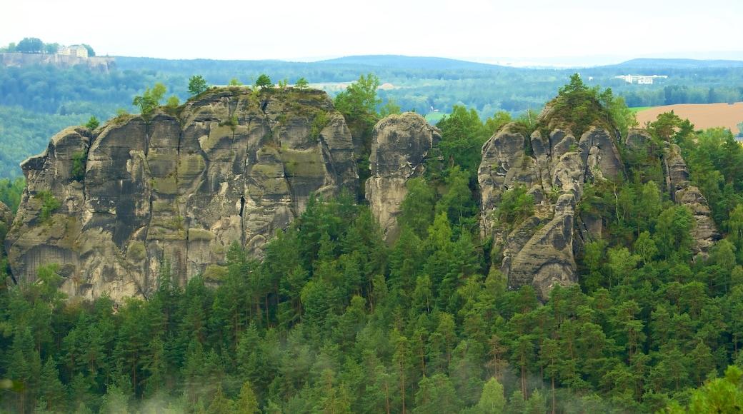 Saxon Switzerland National Park featuring mountains