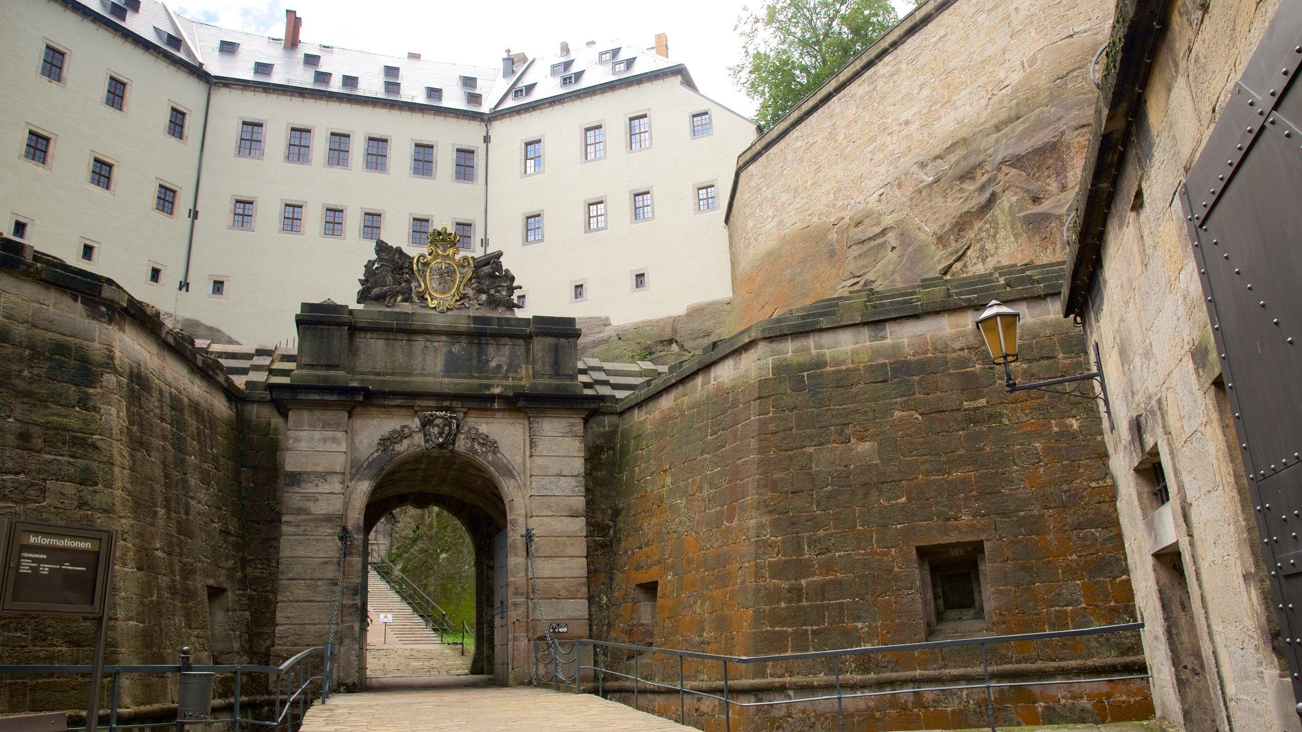 Festung Königstein, Königstein, Sachsen, Deutschland