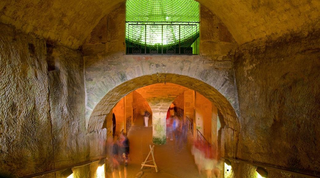 Festung Königstein welches beinhaltet Innenansichten